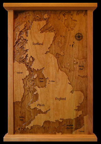 Carving of England